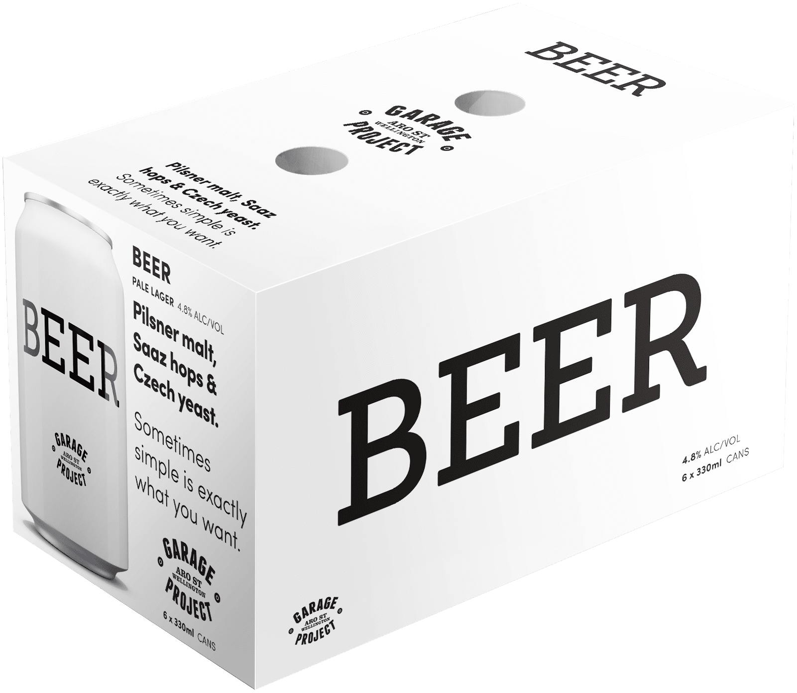 GP'S beers 6pk can 330 ml