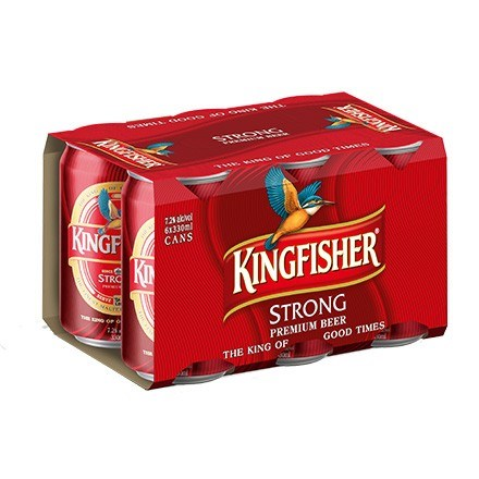 Kingfisher Strong 6pk 300ml Cans Kingfisher Strong